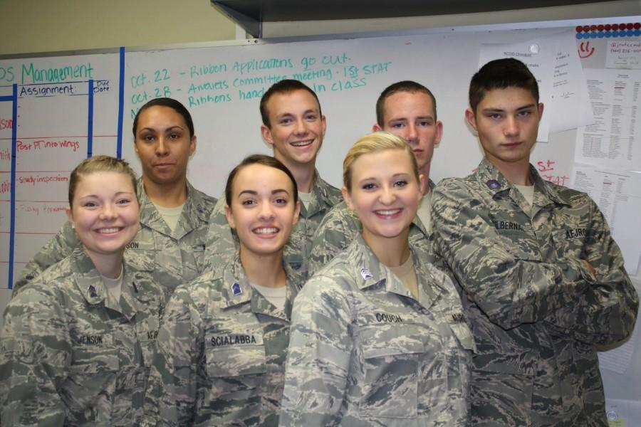 AFJROTC, the Command Staff of the Corps