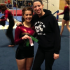 Gymnast Tia Leonard with new coach Angela Plotner
