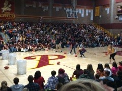 Homecoming Assembly Reveals Homecoming Court Nominees and Scholarship Winners