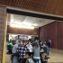 Prairie students eating lunch and having a break during finals week.