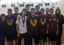 Boys Tennis Ace Their Competition In Districts