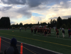 C-Team Football Soars Over Kelso With a Win