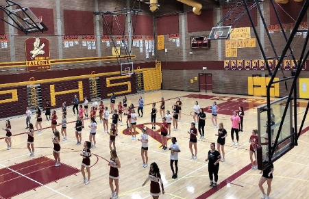 Girls Basketball Cheer Tryouts 2017