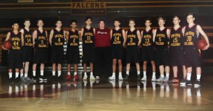 Boys JV Basketball vs Hudson's Bay