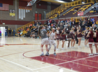 Girls Basketball Takes on Battleground High School in the Rivalry Game