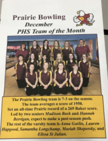 Girls Bowling Wins Big Against Mountain View