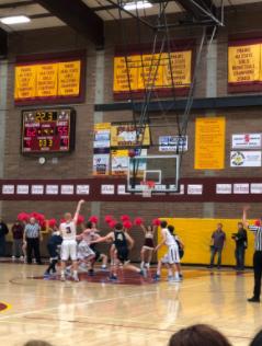 PHS Boys Basketball Team Wins League