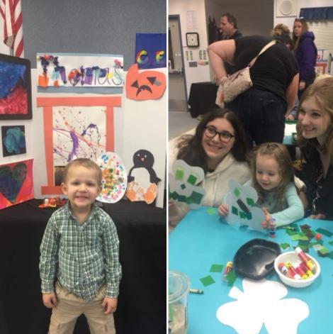 Prairie Preschool Art Show