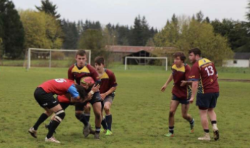 The Prairie Rugby Team Sweeps the Competition in Their Home Game