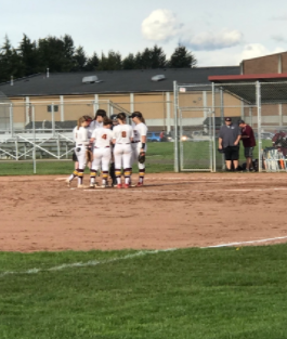 The Prairie Softball Team Takes on Evergreen High School With a Win