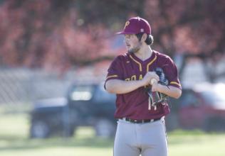 The Prairie Baseball Team Takes a Tough Loss to Kelso High School