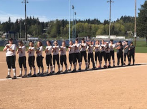 Prairie Softball Controls Fort Vancouver in League Game