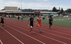 Prairie Track Team Competes at District Tournament