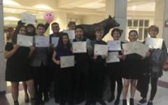 Speech And Debate Team Claims 2nd At First Competition