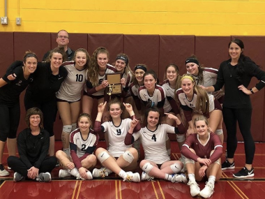 Volleyball Soars To State