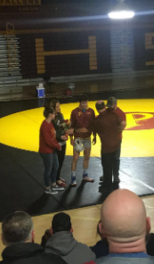 Wrestling Finishes With Home Win