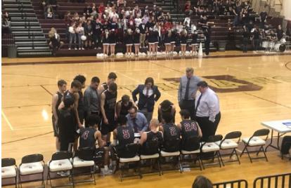 Boys Basketball Team Face Tough Loss Against Mt. Spokane