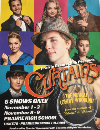 """Curtains"" Play Flyer"