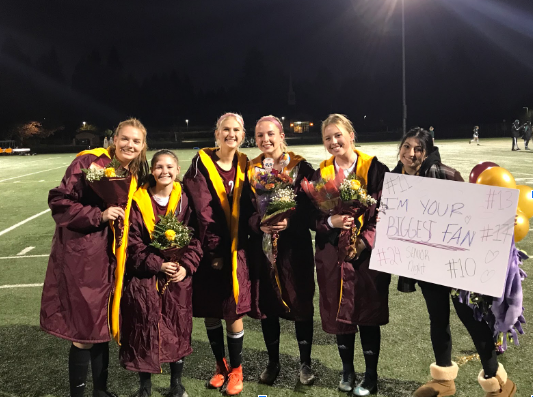 Prairie Soccer Team Says Goodbye To Their Seniors